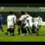 Player Tries To Choke Referee During Game – Video