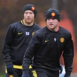 Wayne Rooney and Paul Scholes