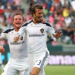 David Beckham Super Free Kick Against Chivas USA – Video