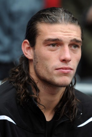 Newcastle United striker Andy Carroll is on the verge of his first ever