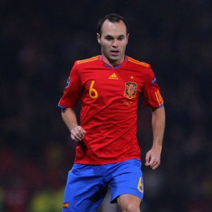 Picture of Andres Iniesta