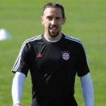 Franck Ribery Crashes Through Barrier During Training – Video
