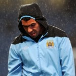 Mancini : Carlos Tevez Could Play Against Bayern Munich