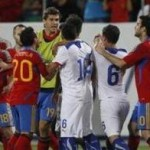 Massive Brawl During Spain vs Chile Friendly – Video