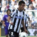 AC Milan Tracking Udinese Midfielder Mauricio Isla