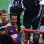 Racist Russian Fans Throw Banana At Chris Samba