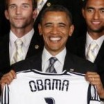 President Obama Teasing David Beckham – Video