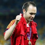 UEFA Name Andres Iniesta Player Of Euro 2012