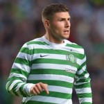 England Manager Roy Hodgson Watching Celtic Striker Gary Hooper