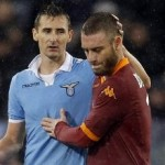 Daniele de Rossi Red Card For Punching Stefano Mauri – Video
