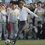 David Beckham goes on a 4 day tour of China