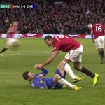 Video: Rio Ferdinand Shoves Torres