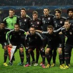 Champions League : CSKA Moscow v Bayern Munich – Team Line Up