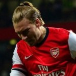 Mikel Arteta Wants Nicklas Bendtner To Stay With Arsenal