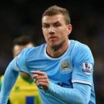 Arsenal, Inter Milan Linked With Man City Striker Edin Dzeko