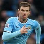 Inter Milan Confident Of Signing Man City Striker Edin Dzeko