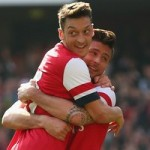 Arsene Wenger Delighted With Ozil's 'Dirty Work' Against Everton