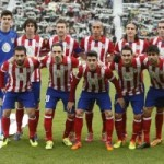 Champions League : Atletico Madrid v Barcelona – Team Line Up