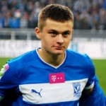 Real Madrid Challenge Man Utd For Lech Poznan Whizkid Karol Linetty