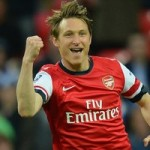 Kim Kallstrom Eyeing More Arsenal Playing Time