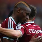 Diafra Sakho Hands West Ham United Injury Scare