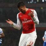 Arsenal's Olivier Giroud Red Card Against QPR