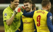 Ramsey's Goal For Arsenal Against Galatasaray