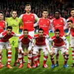 Arsenal Line Up 1