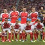 Arsenal line up 2015