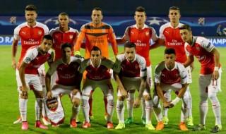 Arsenal XI For  Dinamo Zagreb Clash
