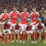 Arsenal line up 2015
