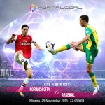 Norwich City v Arsenal - Injury Update & Stats