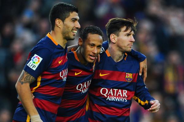 Luis Suarez Neymar Messi