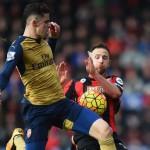 AFC Bournemouth 0-2 Arsenal - KEY STATS