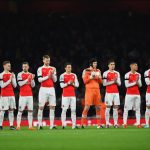 Arsenal line up 2015 A