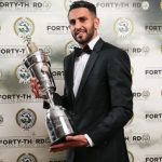Riyad Mahrez becomes the first African player to be named Premier League PFA player of the year.